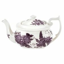 Spode Kingsley White Collection Teapot 1.1L Portmeirion