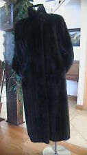 BEAUTIFUL FULL LENGTH MINK DEEP BROWN FUR COAT