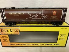 ✅ MTH RAILKING PENNSYLVANIA MAP 4 BAY CYLINDRICAL HOPPER CAR NEW! FITS LIONEL