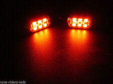 TRIUMPH & KAWASAKI  RED 5050 SMD LED PODS 4 PODS  & CONTROLLER WITH 4 KEY REMOTE