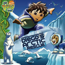 "Diego's Arctic Rescue (""Go Diego Go!""), Nickelodeon, New Book"