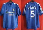 Maglia Adidas Real Madrid Zidane maglia shirt camiseta 2004 thrid Vintage - L