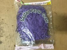 Rite Aid Easter Paper Grass Purple Grass,