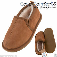 Suede Slip - on Slippers Medium Width Shoes for Boys