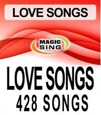 Magic Sing Karaoke Mic 428 Songs Best Love Song Selections Song Chip Leadsinger