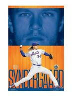 Noah Syndergaard New York Mets poster 22x34 MLB baseball Trends room wall decor