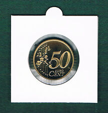 Kursmünze  50 Cent  2004 A Berlin bankfrisch versiegelt in Rähmchen