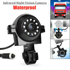 12V HD Car Trucks RV Waterproof Infrared Night Vision Rotatable Bracket Camera