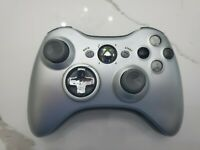 Official OEM Genuine Microsoft xbox 360 Wireless Controller Silver Fast Shipping