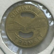 Cincinnati Ohio OH Cincinnati Transit Transportation Token