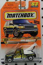 BLACK TOW GMC WRECKER TRUCK 1987 MOTOR SPORTS 63 1998 MB MBX MATCHBOX