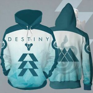 2020 New Game Destiny 2 Anime Sweater 3D Cosplay Pullover Hoodie Sweater Clothes