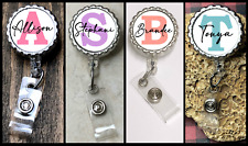 Personalized Retractable BADGE REEL ID Badge Holder