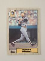 1987 Topps Barry Bonds RC Rookie #320