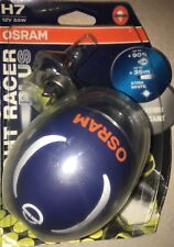 OSRAM H7 NIGHT RACER PLUS  H7 OSRAM NIGHTRACER BIKE BULBS TWIN PACK