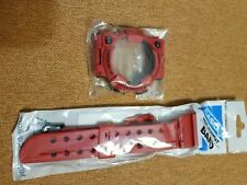 Casio G-Shock GWF1000RD-4 Original Frogman strap, bezel with stubs and backcover