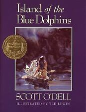 Island of the Blue Dolphins (Illustrated)-ExLibrary