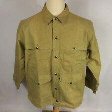 Minty Vintage 50s 60s Filson Seattle Canvas Hunting FIshing Tin CoAt JaCkEt L