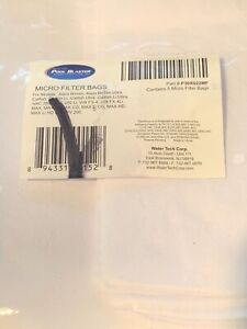 Water Tech P30X022MF Pool Blaster Micro Filter Bags ( Pack of 5 )