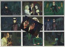 "1995 Batman Forever Metal ANIMACTION ""Complete Set"" of 10 Chase Cards (1-10)"