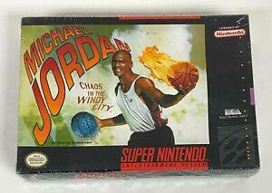 SUPER NINTENDO Original 1994 Michael Jordan Chaos in the Windy City Game
