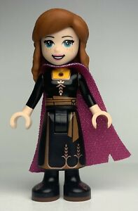 Lego Disney Princess ANNA - BLACK DRESS Minifigure dp073 FAST SHIPPING!