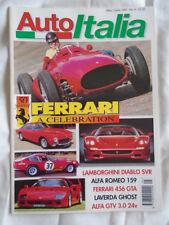 Auto Italia 14 Diablo SVR, 456 GTA, 50 yrs of Ferrari
