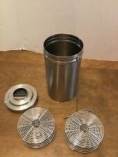"""Nikor Stainless Film Developing Canister With Reel 7"""" Missing Cap"""