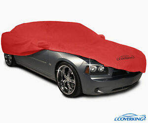 Coverking Red Triguard Tailored Car Cover for Dodge Challenger - Made to Order