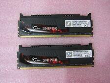 G.SKILL Sniper 8GB (2x4GB) PC3-14900 DDR3-1866MHz F3-14900CL9D-8GBSR