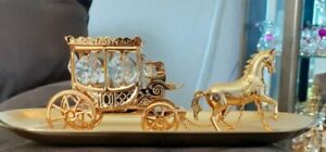 Swarovski Crystal Temptations Horse And Carriage