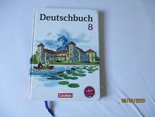 Deutschbuch 8 =  8. Schuljahr ISBN: 9783060619917 gebundene Ausgabe