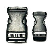 Steckschnalle 20 bis 50mm Clipverschluss Gurtschnalle Steckverschluss Clip Gurt