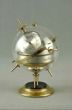 Vintage Sputnik Weather Station Barometer Thermometer Art Deco Germany 50s 60s