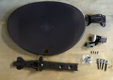 SKY Q ZONE 1 SATELLITE DISH KIT + WIDEBAND LNB + FIXINGS + 24H DELIVERY