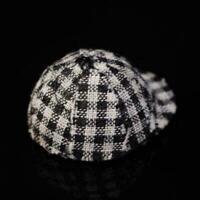 1/12 Dollhouse Miniature Access Mini Harz Checker Hüte für Puppenhaus Model E8O0