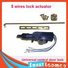 Universal Car Central Door Lock Actuator Auto locking Motor Gun Master 5 wire