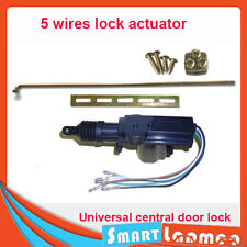 Universal Car Central Door Lock Actuator Auto locking Motor Gun Master 5 wire