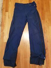 vintage The North Face Gore-Tex Side Zip Pants M medium USA dark blue