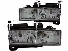 For 1988-1989 GMC R2500 Headlight Set Anzo 95859CT Headlight Assembly