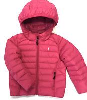 RALPH LAUREN POLO Girls Sz 5 Jacket Kids Puffer Down Fill Coat