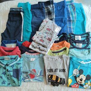 Bekleidungspaket Sommer Babykleidung Jungen Gr.86/ 92