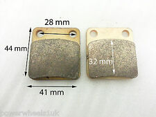 BP015 SET OF REAR BRAKE PADS FOR BASHAN BS200S-7 200CC QUAD BIKE