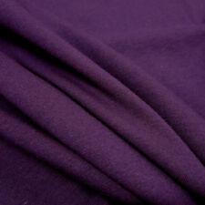 Stoff Meterware Baumwolle Jersey lila violett Tricot T-Shirt weich dehnbar