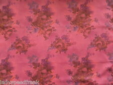 Liberty TANA LAWN tissu de coton Denise eva 3.15 m Rose Foncé Cerise 315cm