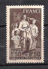 France 1943 Yvert n° 585 neuf ** 1er choix