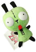 Mini Alien Invader Zim Dog Suit Gir Robot Stuffed Soft Plush Doll Toy 5.5 inch