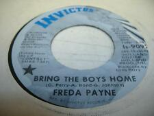 Soul 45 FREDA PAYNE Bring the Boys Home on Ivictus 3
