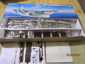 Trumpeter 1:350 USS Ticonderoga CV-14 Aircraft Carrier Plastic Kit #05609