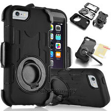 Rugged Hybrid Hard Cover Shockproof Clip Case for Samsung Galaxy Note 4 / Note 5
